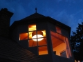 The Turret Suite at Night